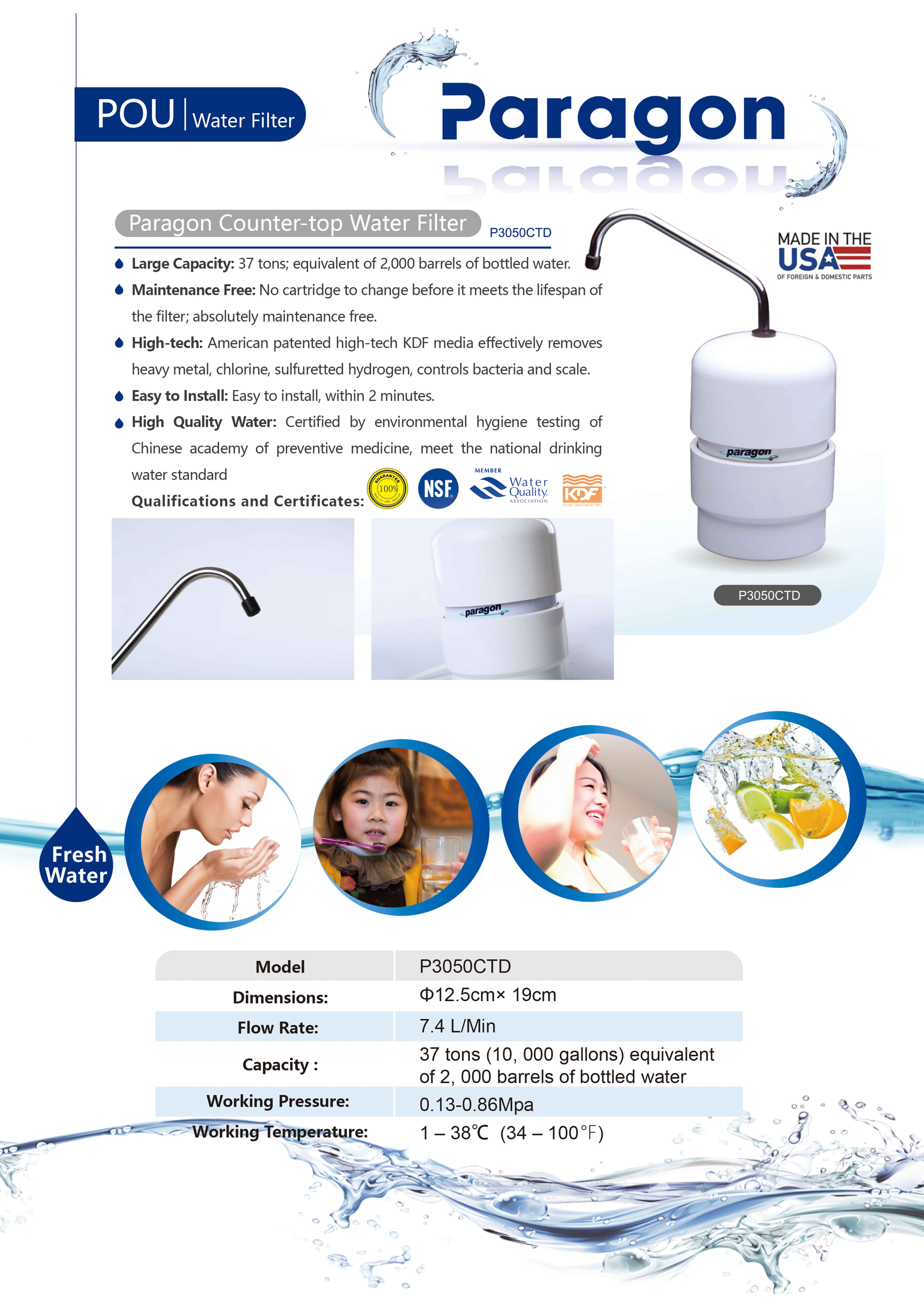 ParagonWater P3050 A4 P1s ENG